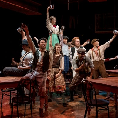 Review: NEWSIES at the Marriott Theatre