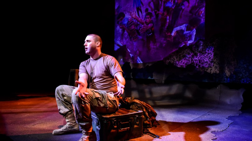 Review: GHOSTS OF WAR at Griffin Theatre