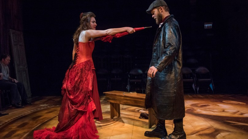 Review: CRIME AND PUNISHMENT at Shattered Globe Theatre