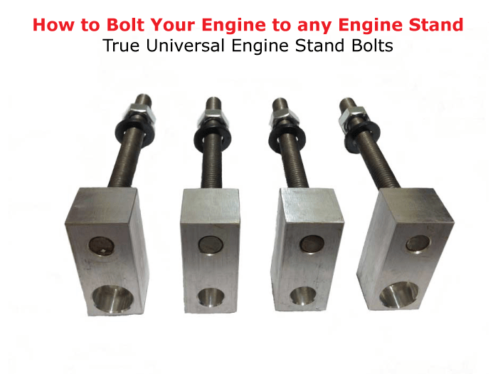How to bolt your engine to any engine stand