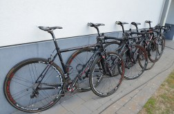 A selection of bikes were available - Helium, Fenix or X-NIghts
