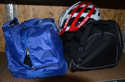 'Wet bags' for riders with anything they might need on a ride