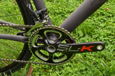 FSA SL-K cross crankset with 46/36 chainrings