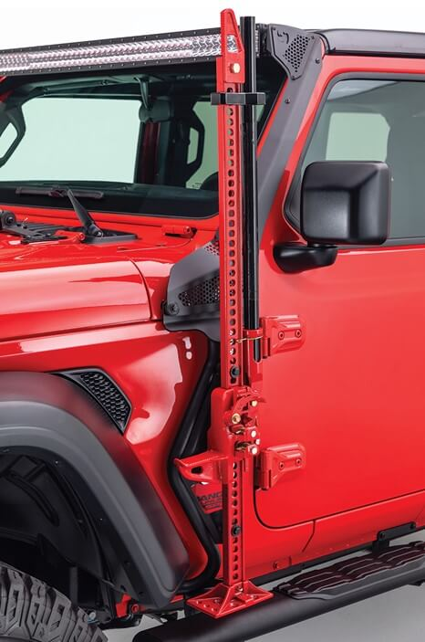 Go Rhino (701001T): Jack Mount for Jeep Wrangler JL and Gladiator JT
