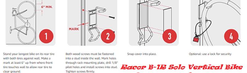 Racor B-1R Solo Vertical Bike