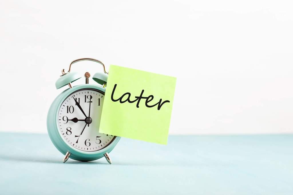 Procrastination | Performance et Coaching