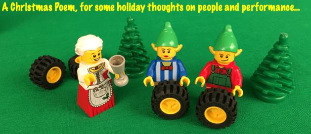 A santa square Wheels poem