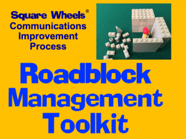 Roadbloc Management Square Wheels Toolkit for Managers