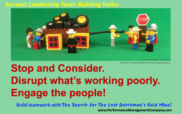 Teambuilding and Servant Leadership training