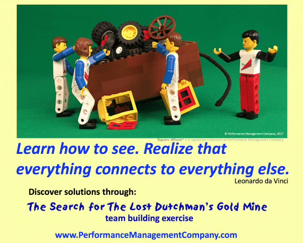 Lost Dutchman Gold Mine teambuilding theme