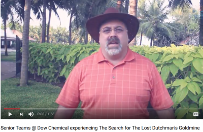 Dow Chemical playing The Search for The Lost Dutchman's Gold Mine testimonial video