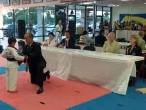 2011-08-18 Black Belt Testing Dr Levy of VSU Guest Judge