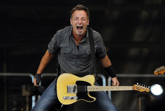 Bruce Springsteen - Credit @ Andrés Fevrier