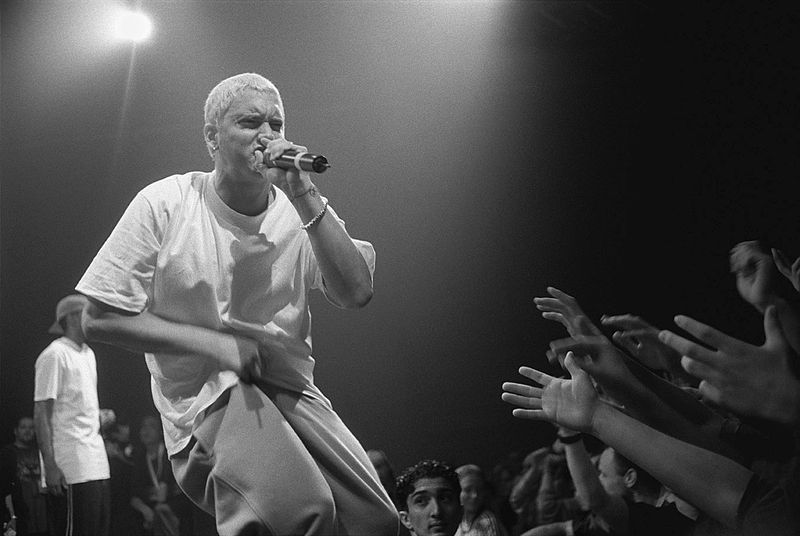 Eminem - Credit @ Mika Photography