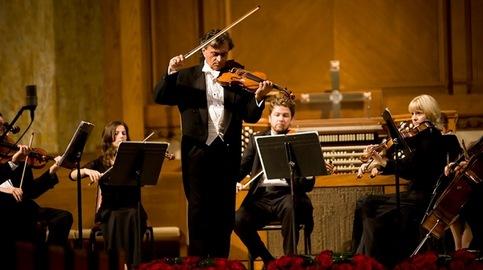 Ashot Tigranyan, the violin, his orchestra: a matter of love, beauty, and dedication.