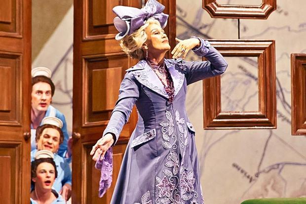 La Fille du Régiment and Kiri Te Kanawa's Birthday at the Royal Opera House