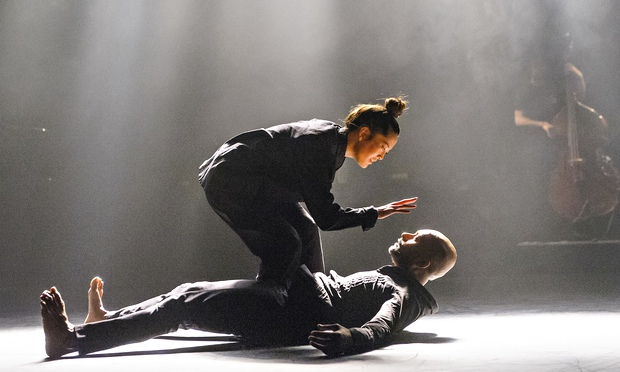 Akram Khan and Honji Wang in The Pursuit of Now at Sadler's Wells