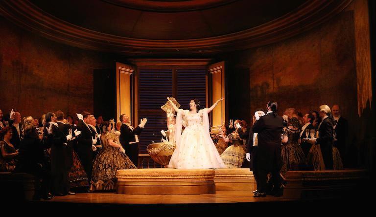 La Traviata at the Royal Opera House