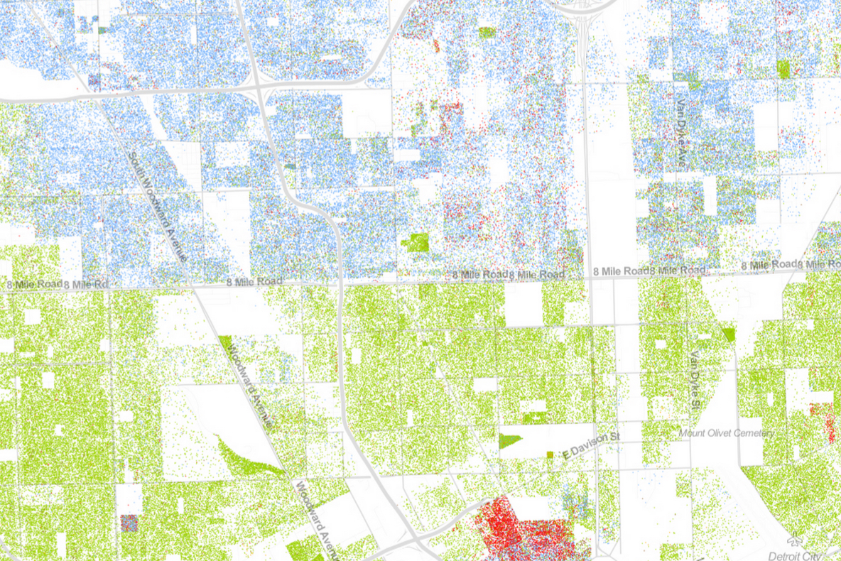 Map Of Americas Racial Segregation.Maps Of America S Racial Segregation Performativemapping