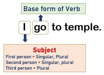 Subject verb agreement example 3