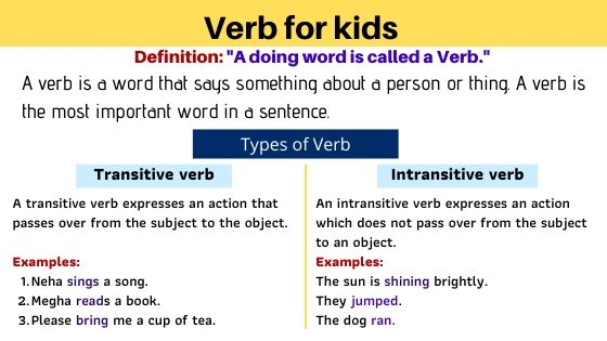 verb for kids