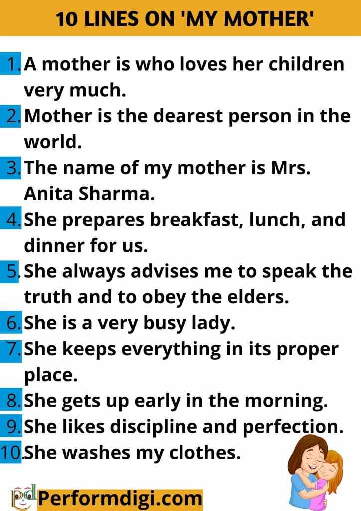 Short descriptive Essay on my mother