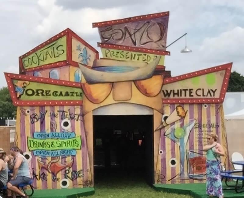 Gonzo Bar Forecastle Festival