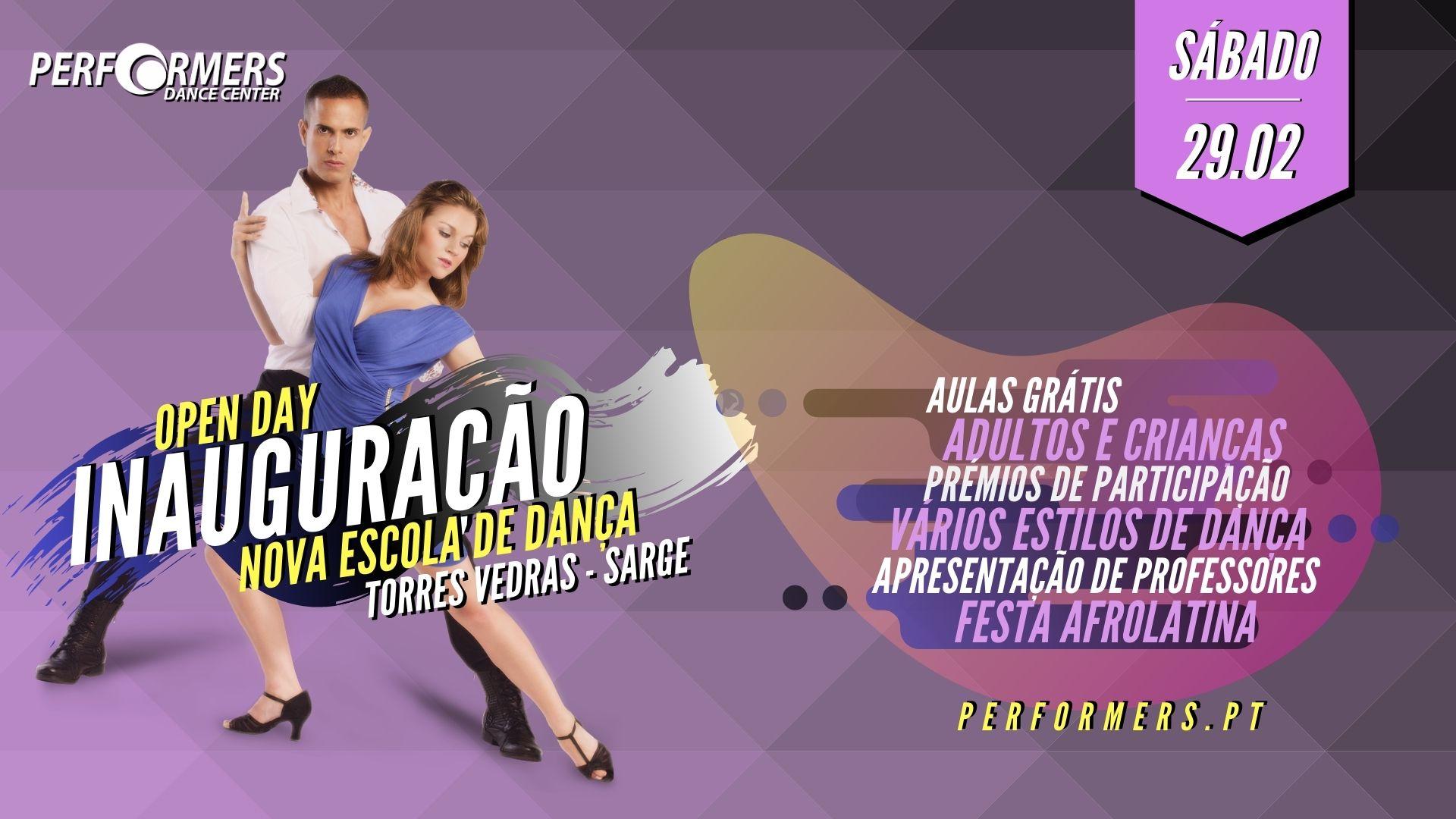 inauguração Novo espaço Performers dance center torres vedras