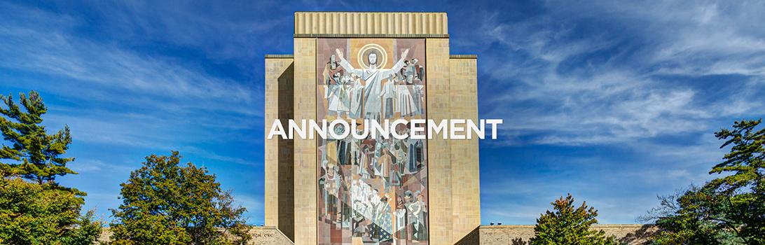 Announcement Header blog