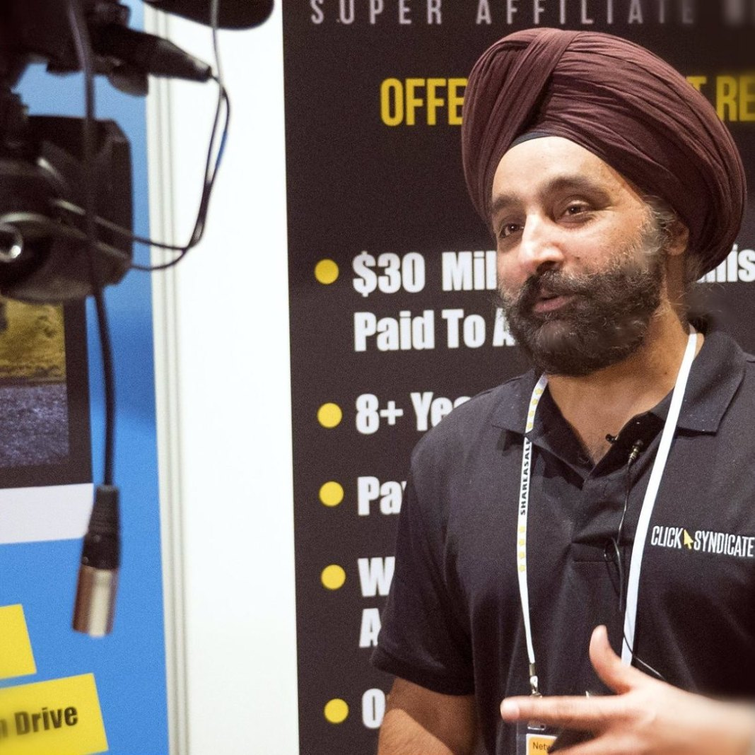Ricky Ahuja, Founder of Affiliate Crossing