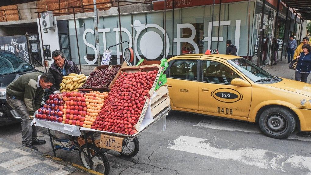 street vendor argentina
