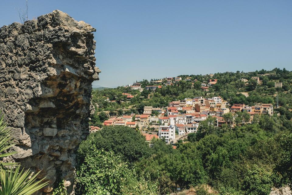 girona city wall