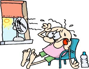 sticky heat wave