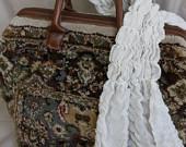 Knitting bag - carpet bag, Mary Poppins Bag