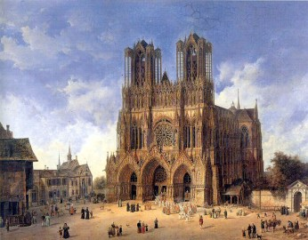 french perfume - reims cathedral