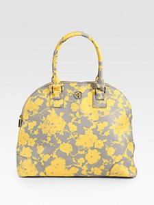 yellow purse - tory burch