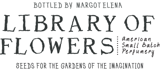 Library Of Flowers LOGO