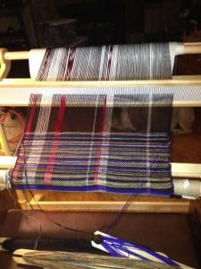 scarf weaving