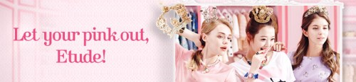 Etude house Let your Pink out campaign