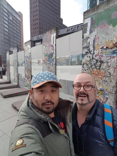 Berlin 15.3.17 JP Berlin Wall