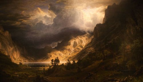 Indigo Baruti WLA_brooklynmuseum_Albert_Bierstadt_A_Storm_in_the_Rocky_Mountains_1866 WikiCommons