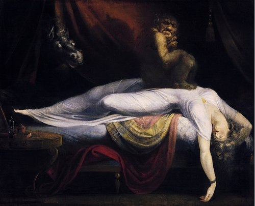 Black Velvet Cafe 4160 Tuesdays John_Henry_Fuseli_-_The_Nightmare WikiMedia