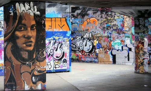 OE Bogue PXHere graffiti_mural_south_bank_undercroft_london_queen_elizabeth_hall