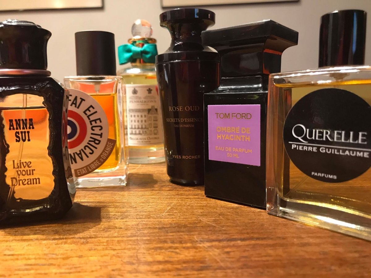 High Rotation Perfumes: Portia July 2018