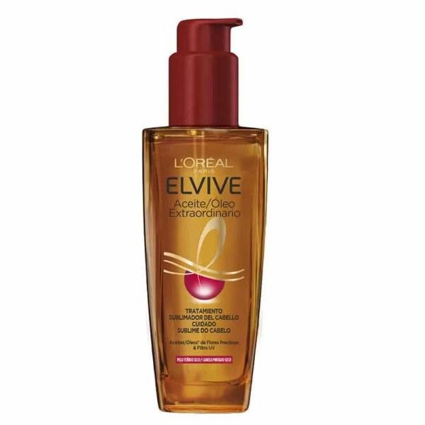 L´Oréal Paris Elvive Aceite Extraordinario Color Vive, Tratamiento uso universal para pelo teñido 100ml