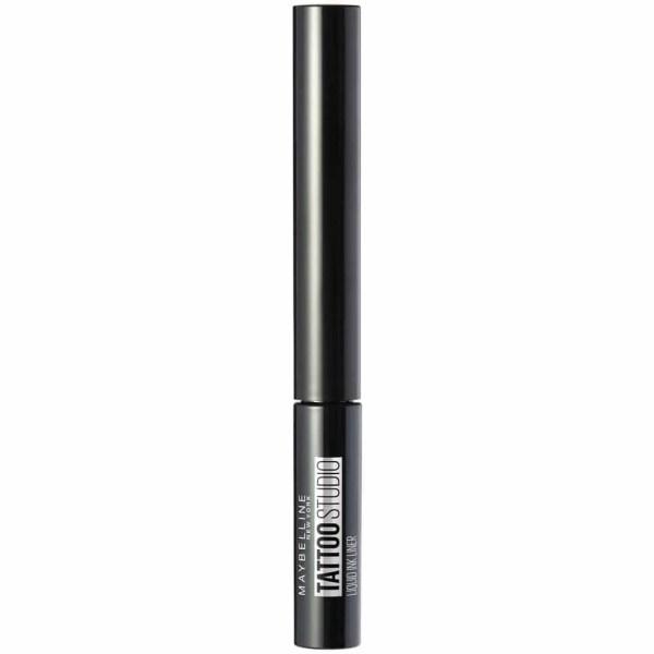Maybelline Tattoo Liner Eyeliner con pincel Semipermanente - 710 Negro