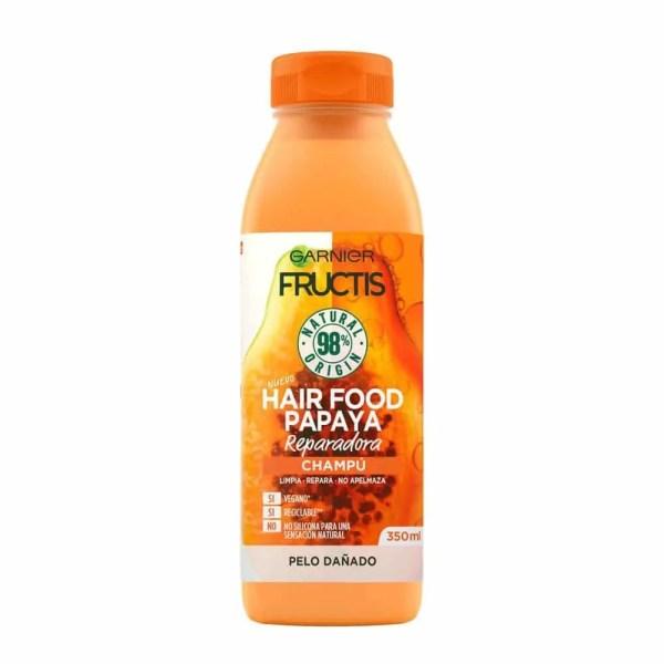 Hair Food Champú Papaya Reparadora - 350 ml