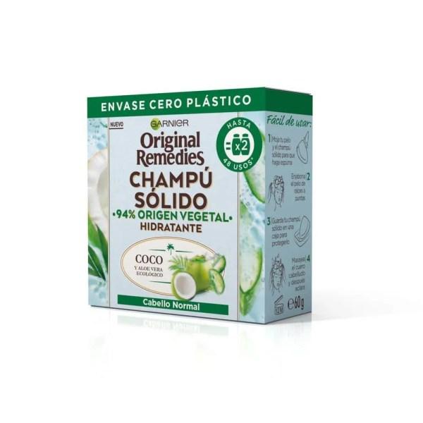 Original Remedies Champú Sólido Coco y Aloe Vera Ecológico