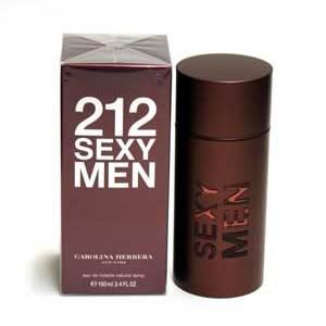 212 Sexy by Carolina Herrera for Men 3.4 oz
