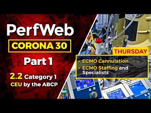 Corona 30 Part 1 Day 4 – ECMO Cannulation – Basic Strategies